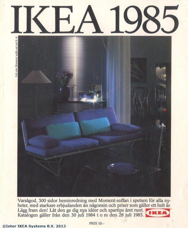 Coperta Catalogului IKEA 1985
