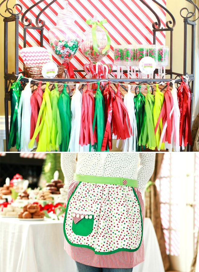 How the Grinch Stole Christmas Brunch + Cute Apron!