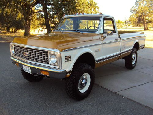 california native 1971 chevy super cheyenne k 20 4x4 with factory 69 C 10 Chev Truck california native 1971 chevy super cheyenne k 20 4x4 with factory air image 3 gm trucks 70 71 72 chevy chevy trucks chevrolet