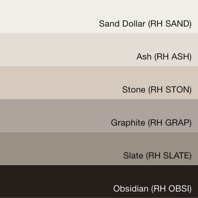 231 best paint colors images on pinterest paint colors for Restoration hardware paint colors photos