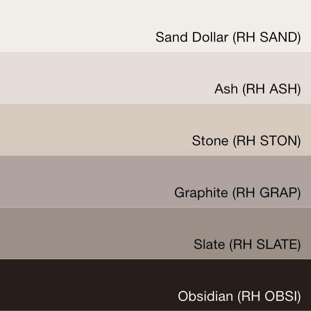 231 best paint colors images on pinterest paint colors for Restoration hardware paint colors photos