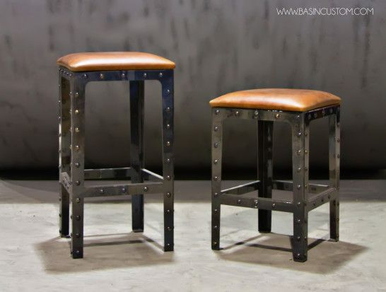 Cool Bar Stools Design Of The Modern Idea With High And Steels