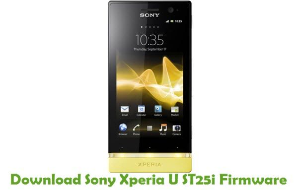 Install sony xperia u st25i official android 4. 0. 4 ics 6. 1. 1. B.