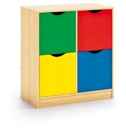 Mueble Maxicolor almacenaje nº1