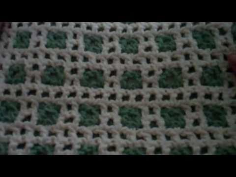Interlocking Crochet - Introduction. Looks awesome. Can be different patterns on both sides.