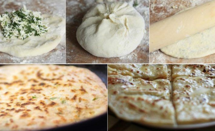 """Lahodné placky """"Hychiny"""" plnené syrom hotové do 30 minút - Báječná vareška"""
