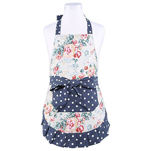 Neoviva Vintage Kitchen Apron For Kid Girls With Big Pocket, Lining  Applied, Style Little Part 50