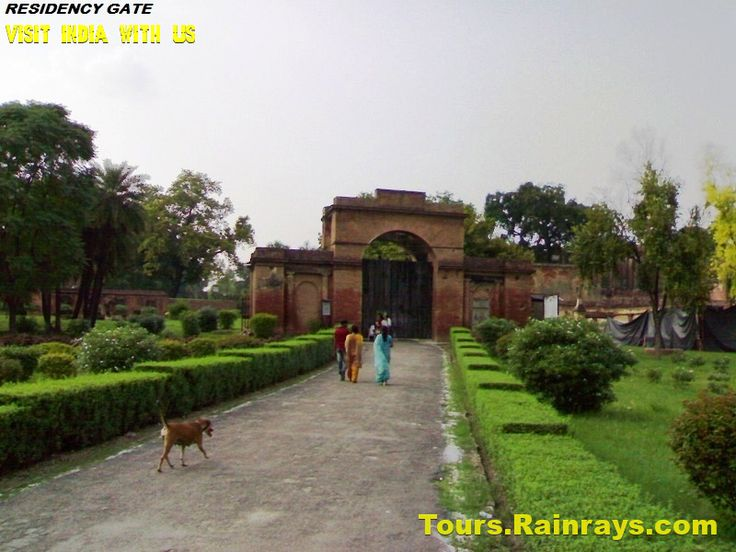 Tourist Attraction India: Tourist Place In Lucknow | Residency Gate
