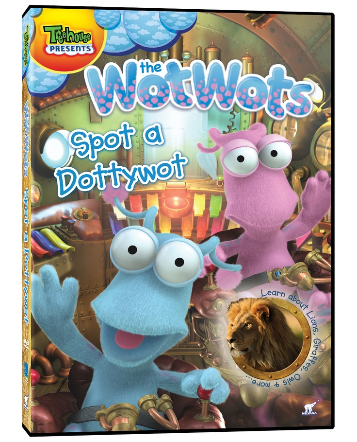 The WotWots - Spot a Dotty Wot DVD Giveaway