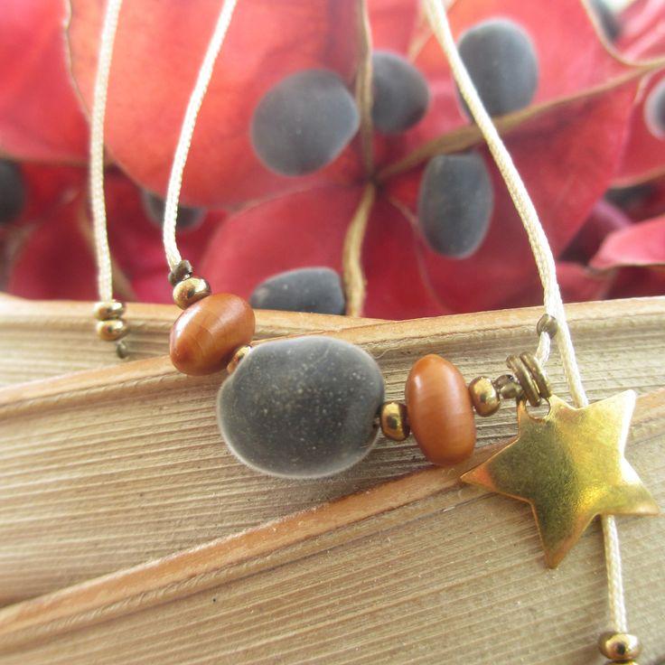 Bracelet Perle du Zanzibar & Casse Rose : Bracelet par inspiration-antilles