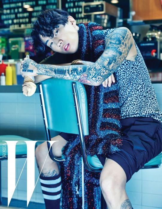 Jay Park | W Korea September Issue '15