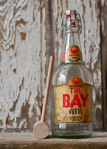 Vodka & Old Bay = the best Bloody Mary's in the world. Their Maryland Bloody recipe is great, I useClamato Juice and add dash of Horseradish. The Bay Vodka