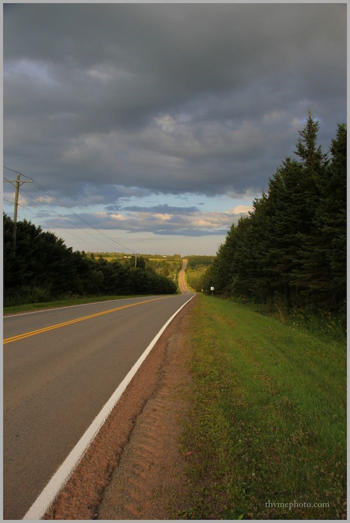 Prince Edward Island country roads