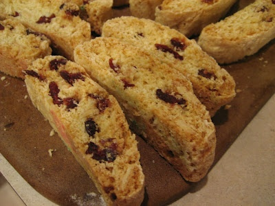 Cranberry Almond Biscotti | Homemade Gifts | Pinterest