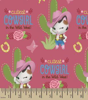 Disney® Sheriff Callie's Wild West Print Fabric
