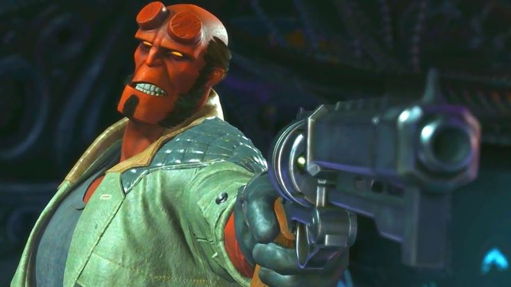 Injustice 2 - Hellboy Gameplay Trailer