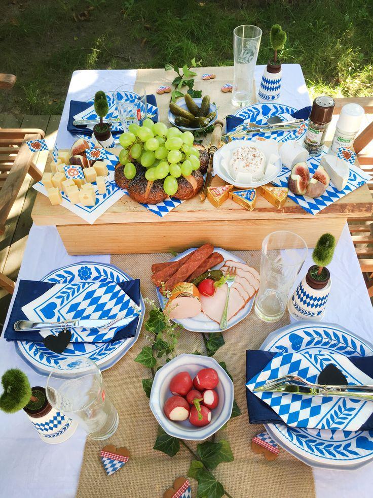 34 besten oktoberfest gaudi wiesn zauber bilder auf pinterest wiesn gaudi und oktoberfest - Bayrische tischdeko ...