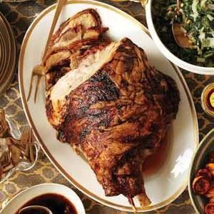how to cook a fresh pork ham roast