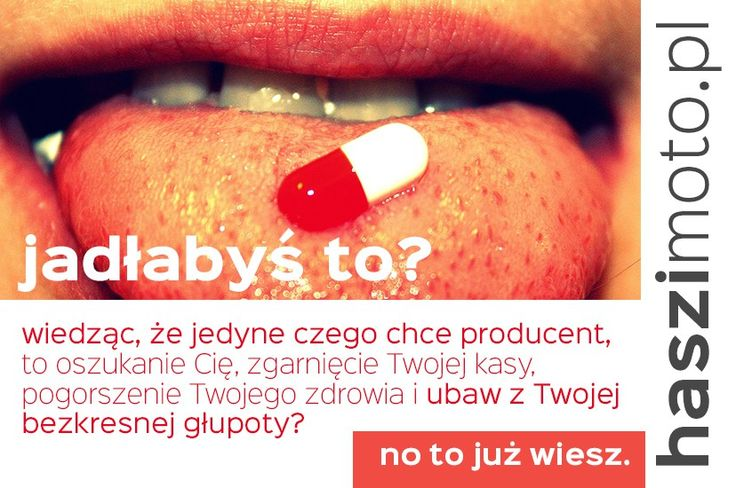 Suplementy diety, ekożywność i superfood - fuck that shit!