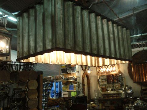 17 Best Images About Corrugated Metal Amp Wood Furniture On
