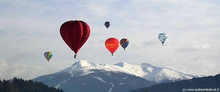 Dolomiti Balloonfestival in Toblach/Dobbiaco
