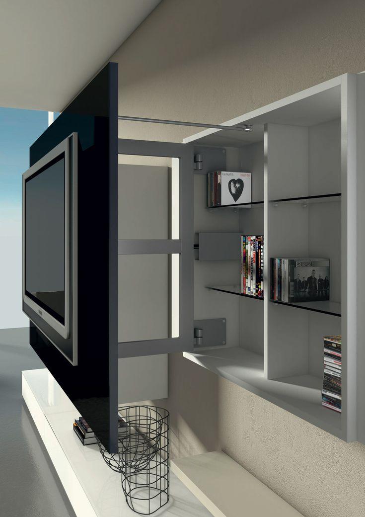 Porta Tv Con Contenitore X1   Dettaglio Prodotto