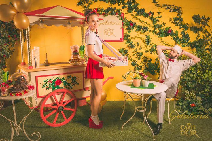 Italian Ice Cream PhotoBooth by PaardenKracht