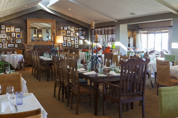 Our family tables in the centre of the restaurant. Donovans Restaurant