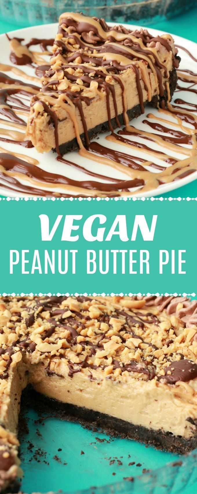 Vegan Peanut Butter Pie