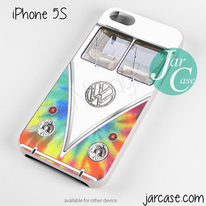 Tye Dye Volkswagen Bus Phone case for iPhone 4/4s/5/5c/5s/6/6 plus