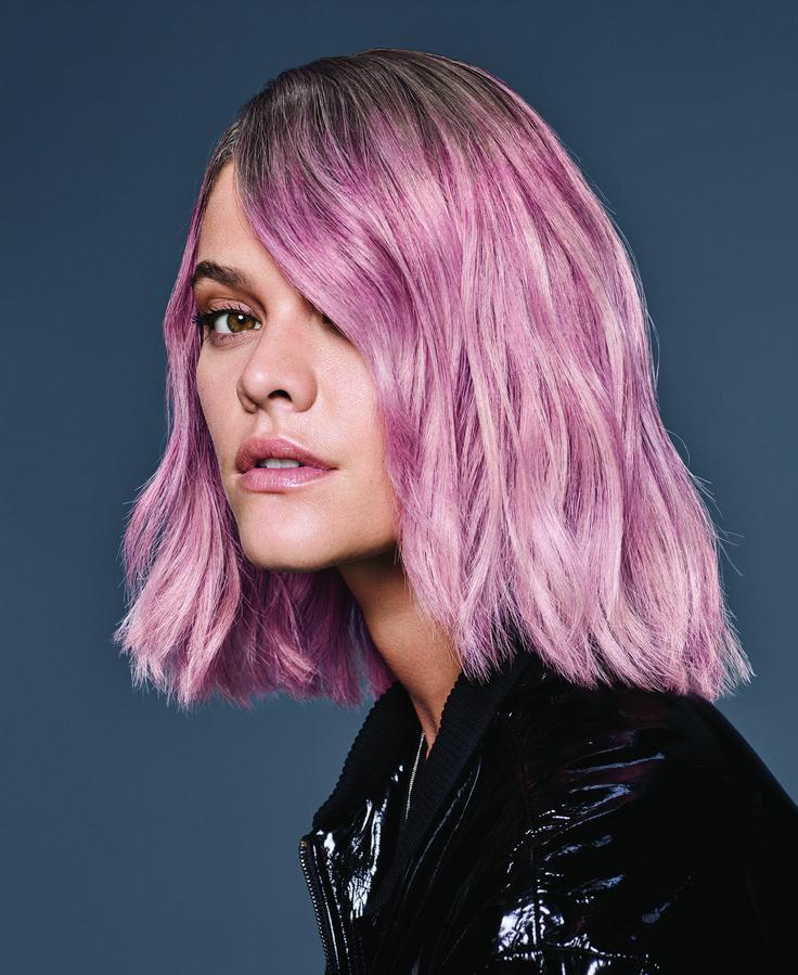 Pastel Pink: Soft Pink Formula from Redken
