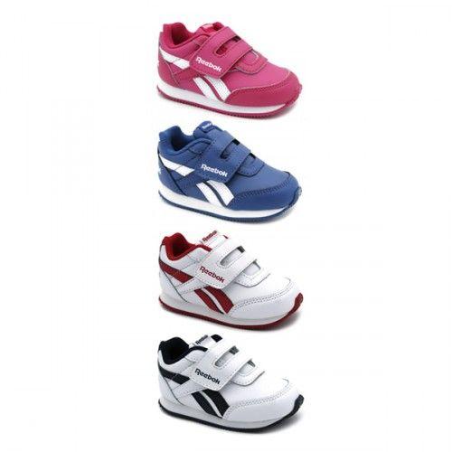 9e269c77aa4 Zapatilla #deportiva #Reebok Royal para #niños y #niñas con velcro ...