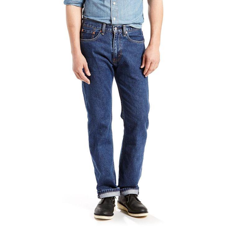 Big & Tall Levi's® 505™ Regular Fit Jeans, Men's, Size: 44X32, Blue