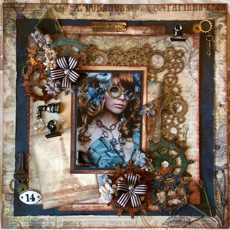 BLUE GIRL - SCRAPS OF DARKNESS - Scrapbook.com