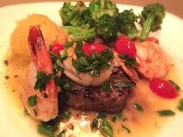 Bonefish Grill Copycat Recipes: Sirloin with Colossal Shrimp Scampi