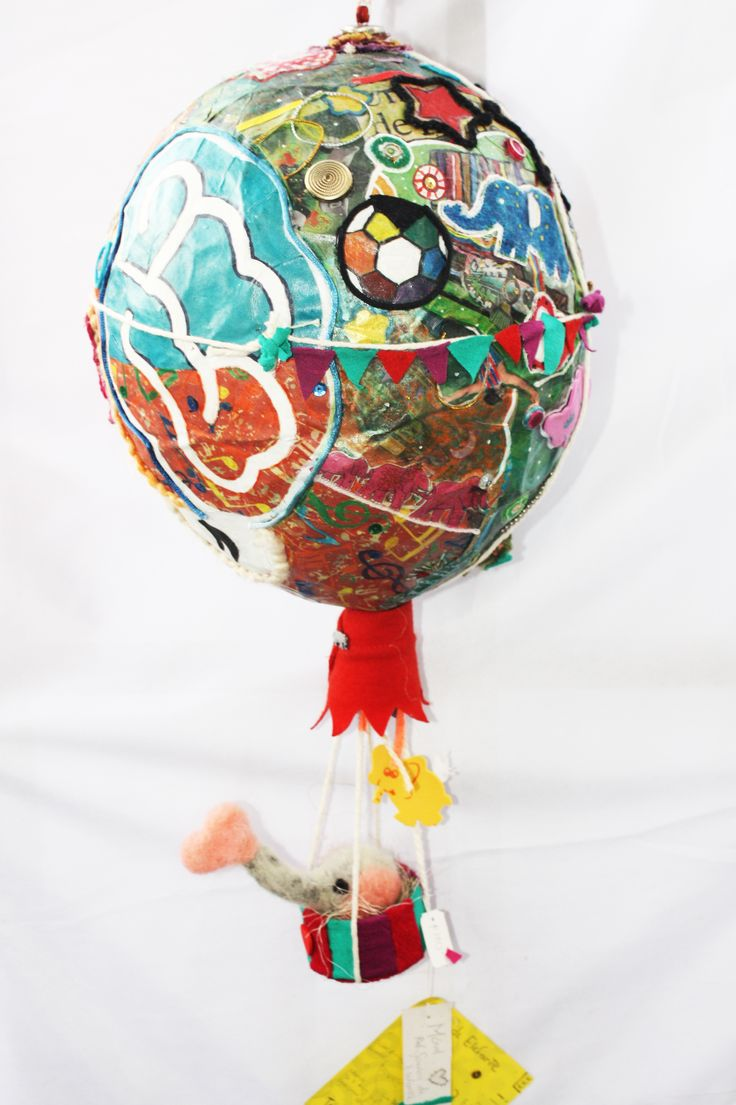 #Móvil #Globo #Balloon #Regalos #Gift #Handcraft #HechoAMano #Maché #Patchwork
