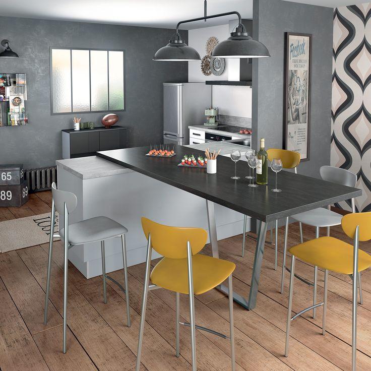Les Meilleures Idées De La Catégorie Pied De Table Central Sur - Table ronde pied central extensible pour idees de deco de cuisine