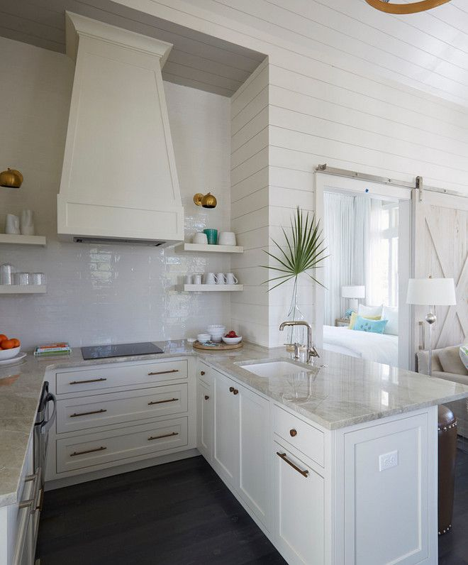 Chambre Pour Garcon Conforama :  Hardware is unlaquered brass Small U Shaped Kitchen with quartzite