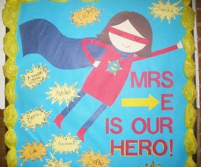 the teacher wife: my SUPER bulletin board