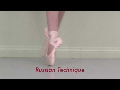 Secrets of Russian Ballet Training: bouree's