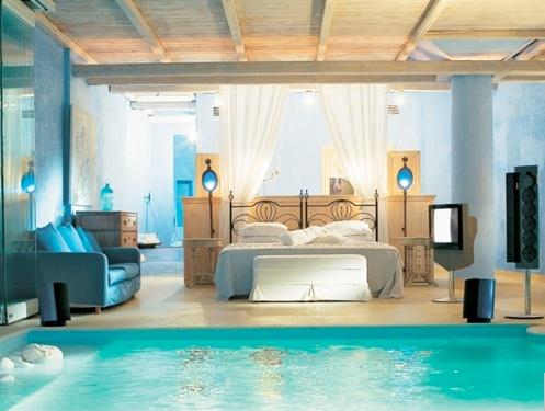 OMG!! DREAM HOTEL! in Greece  http://www.mykonosblu.com/mykonos-villa.php