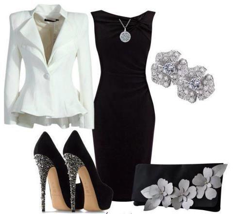 Outfit formal para cena de negocios