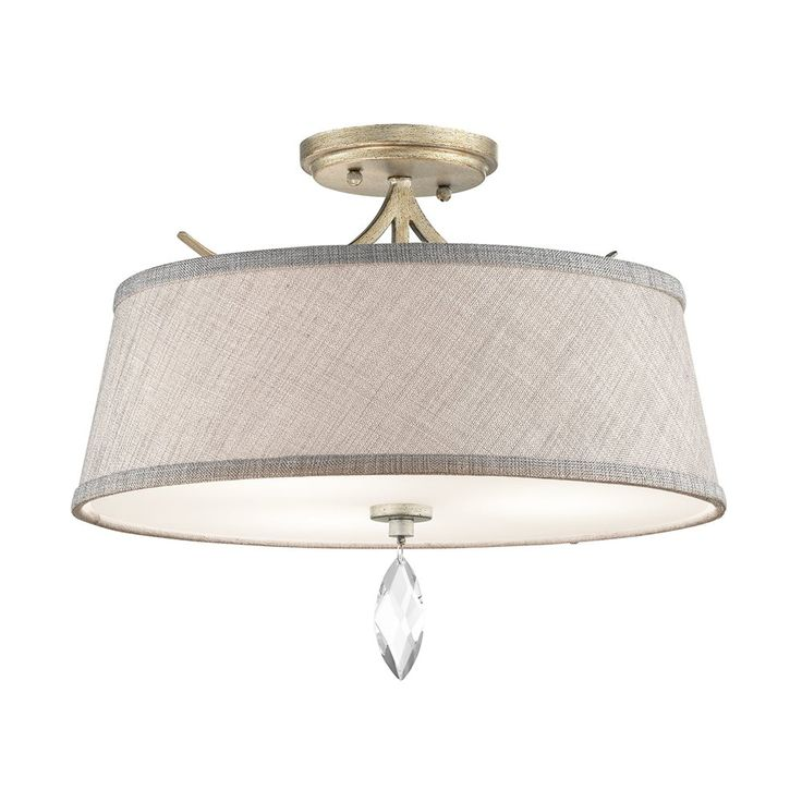 Shop Kichler Lighting  43567 Casilda 3-Light Semi Flush Ceiling Light at ATG Stores. Browse our semi flush ceiling lights, all with free shipping and best price guaranteed.
