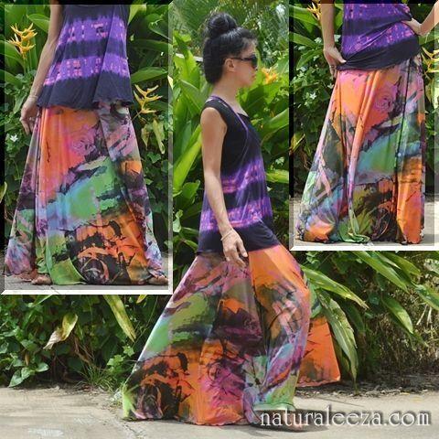 *New arrival*2WAY★psyche colors maxi - ★naturaleeza★-遊び着いっぱい◎ヒッピー・エスニック・レイブファッション- #fashionstore #onlinestore #gyspy #naturaleeza #ravefashion
