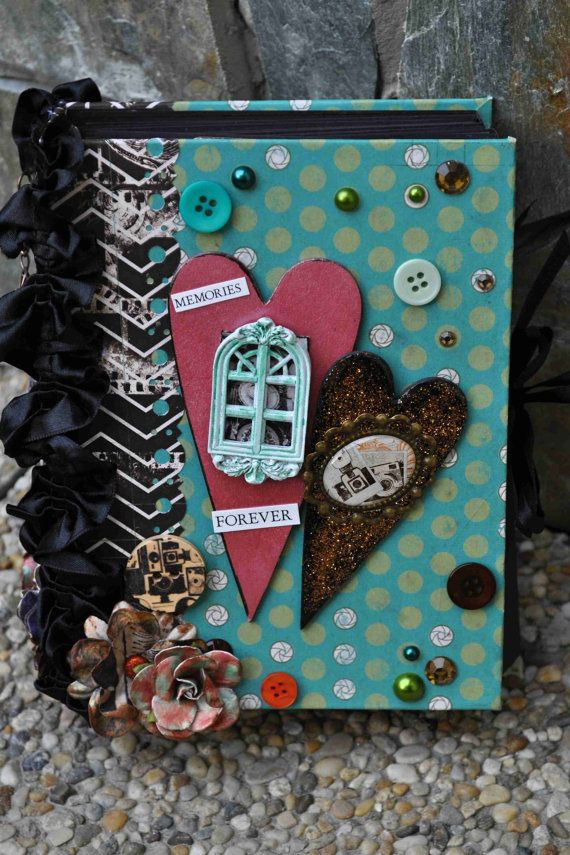 Prague Mini Album Handmade by OriginalTina on Etsy, $100.00