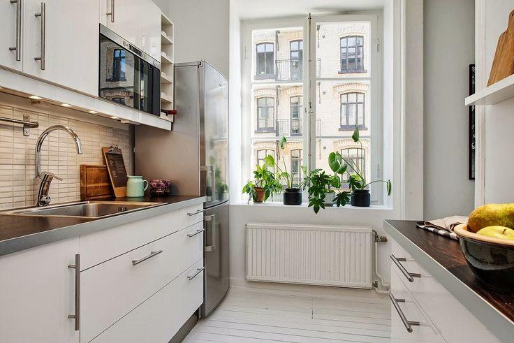 Accente industriale într-un apartament de 40 m²