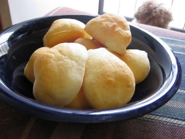 Grain-free Tapioca cheese bread.