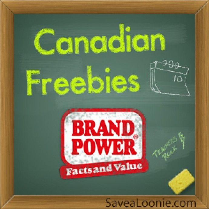 Canadian Freebies: BrandPower Home Tester Club