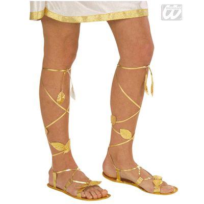 Gouden sandalen volwassenen