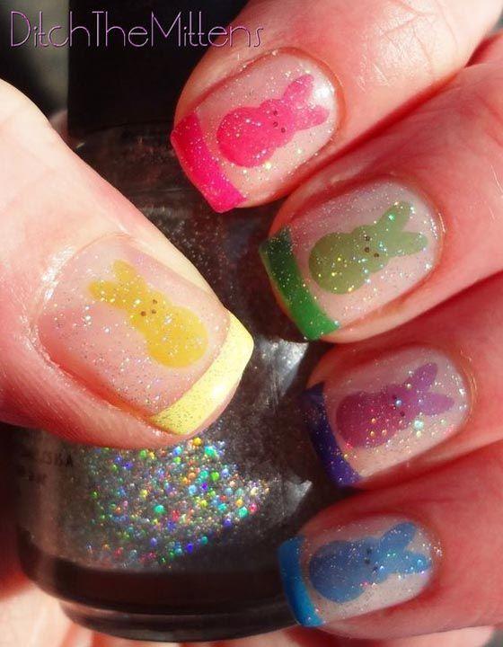 Best 25+ Easter nail designs ideas on Pinterest